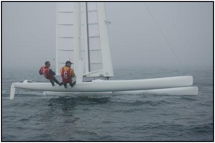 C-class catamaran